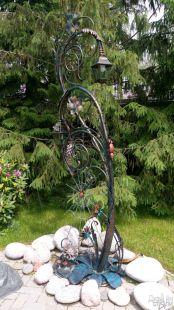 Садовая фигура из металла
