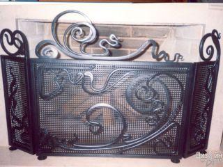 Эксклюзивные кованые элементы декора интерьера
