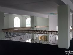 Стильное ограждение для балкона