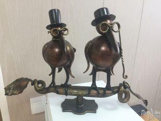 Кованые птицы