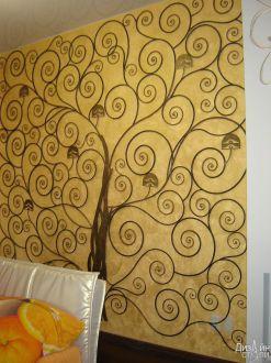 Декоративный элемент в помещение